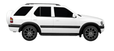 2000 Holden Frontera