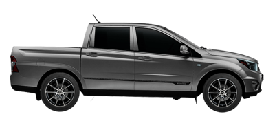 Ssangyong Actyon Sports Tyre Reviews